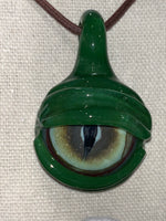Green Eyeball Pendant