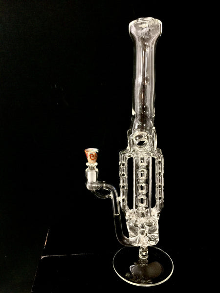 4-way Ladder Perc Bong