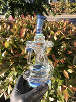 Blue Accented Twisted Recycler
