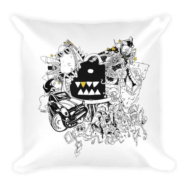Bento Box Artist Collaboration Pillow