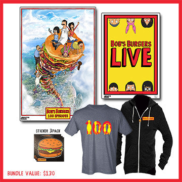 Bob's Burgers 100th Episode Bundle