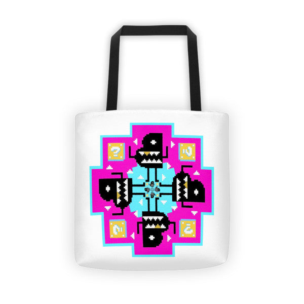 Bento Box Kaleidoscope Tote Bag