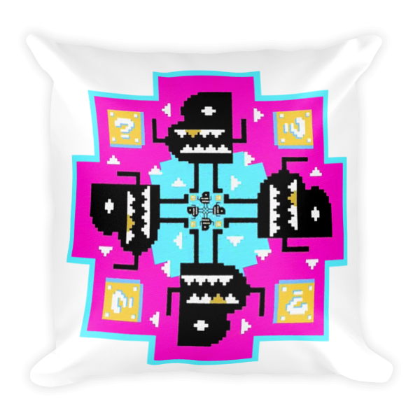 Bento Box Kaleidoscope Pillow