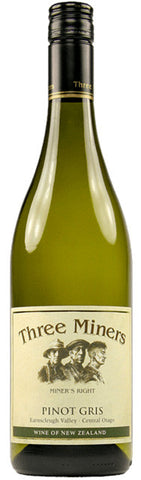 Three Miners Central Otago Pinot Gris 2013