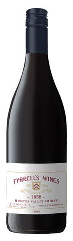 Tyrrell's 1858 Hunter Valley Shiraz 2015