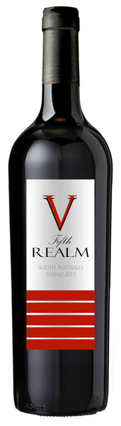 5th Realm South Australian Red Label Shiraz 2015