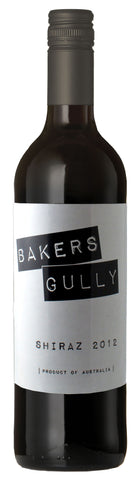 Bakers Gully South Australian Shiraz 2012