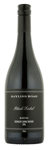 Bayliss Road Black Label McLaren Vale Grenache Shiraz Mataro 2017