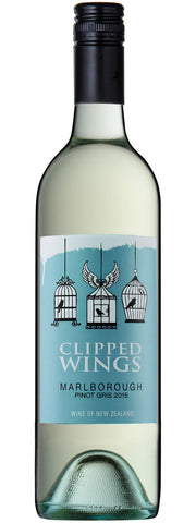 Clipped Wings Marlborough Pinot Gris 2015