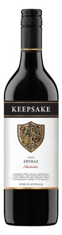 Keepsake South Australian Shiraz 2016