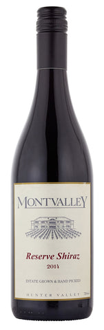 Montvalley Reserve Shiraz 2014
