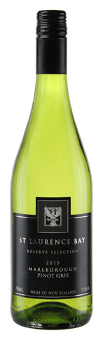 St Laurence Bay Marlborough Pinot Gris 2015