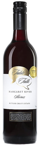 Butler Crest Table Talk Margaret River Shiraz 2016