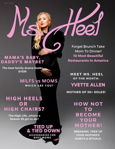 Ms Heel Magazine Mom Issue