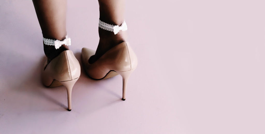 Feminine Shoe Accessories Bows