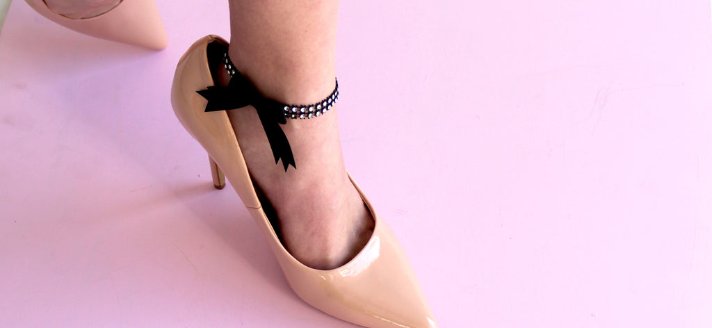 Fashion Bow Anklets for Spring