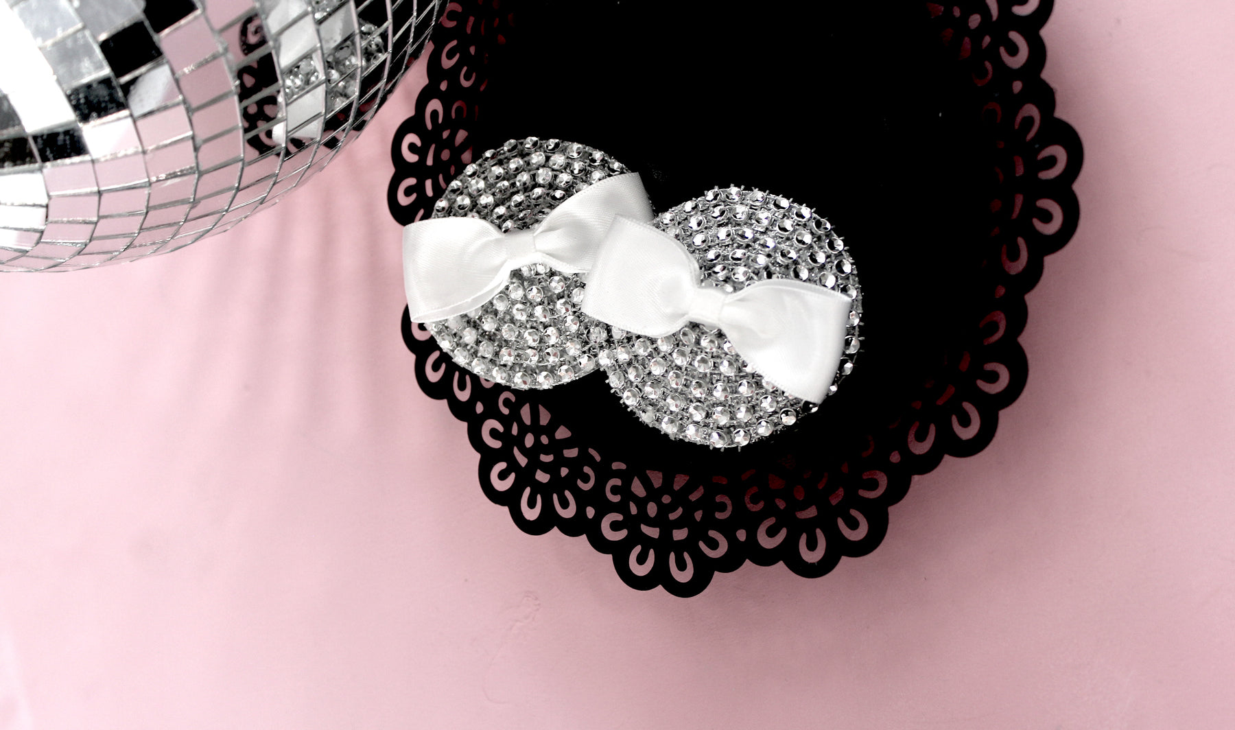 Sparkle Bow Nipple Pasties