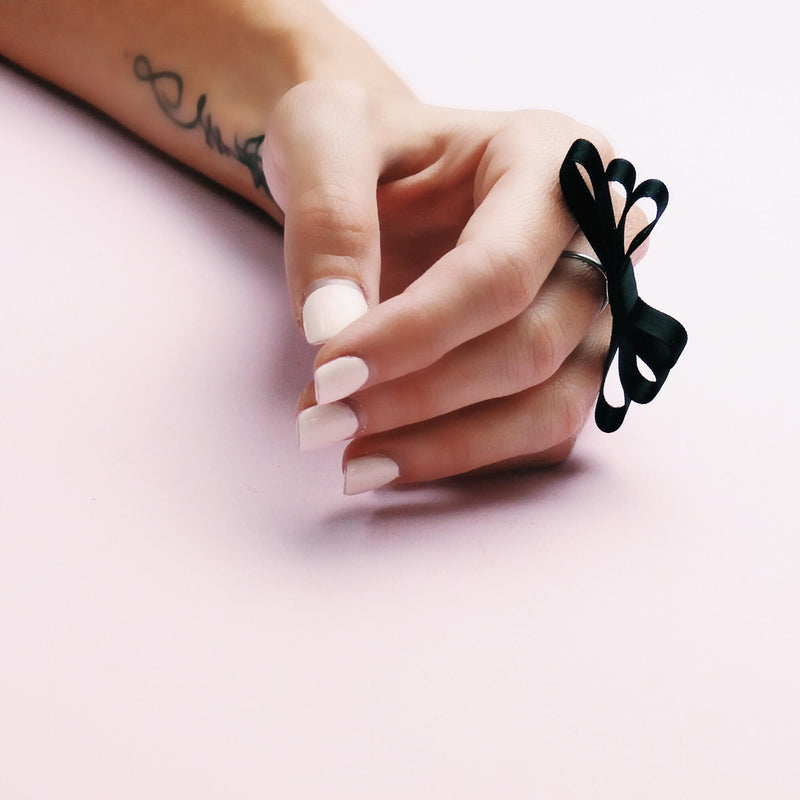 Highness Bow Ring Feminine Jewelry