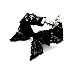 Bougie Black Lace Anklet