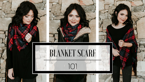 Blanket Scarf 101 | How to Wear One, 3 Different Ways