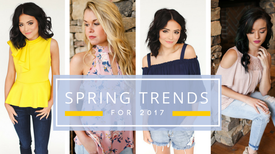 Spring Trends for 2017 with J&J Petite Boutique