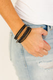 Black Layered Bracelet - J&J Petite Boutique