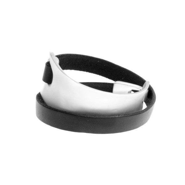Wrap Bracelet- Black and Silver - J&J Petite Boutique - 2
