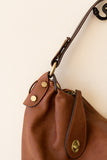 Chestnut Hobo Bag - J&J Petite Boutique - 4