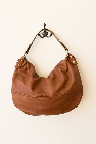 Chestnut Hobo Bag - J&J Petite Boutique - 5