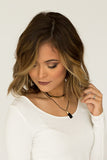 Black Layered Necklace - J&J Petite Boutique - 2