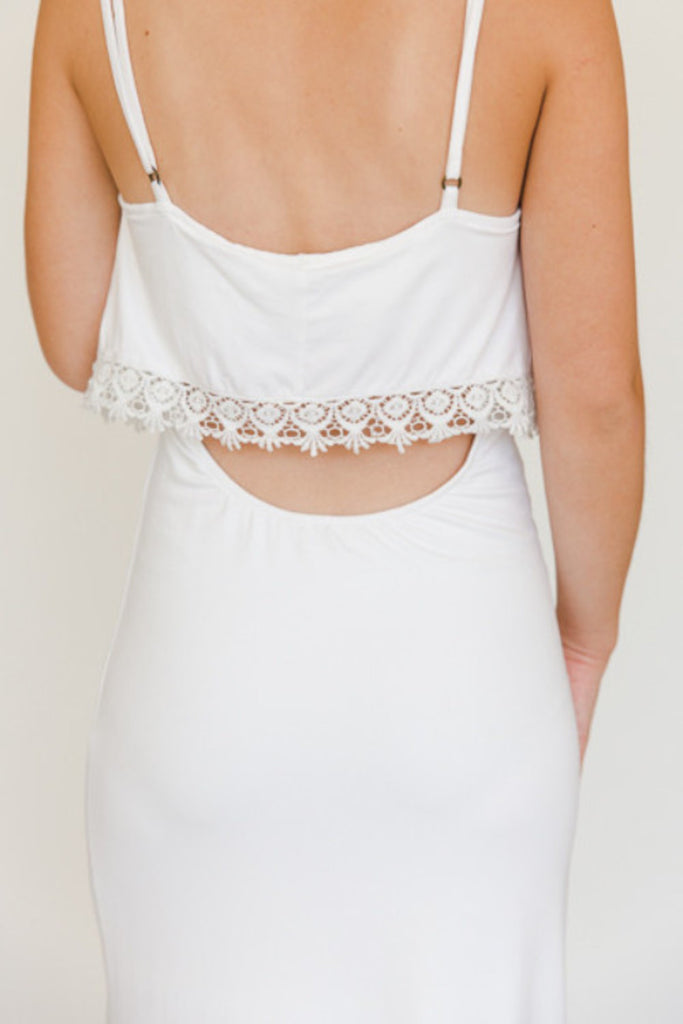 The Heather Maxi - Ivory - J&J Petite Boutique - 7