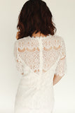Liliah Dress - White - J&J Petite Boutique - 4