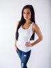 Slimming Tank Top - White - J&J Petite Boutique - 1
