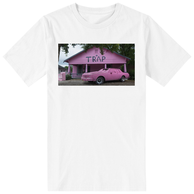 Pink Trap House White T-Shirt