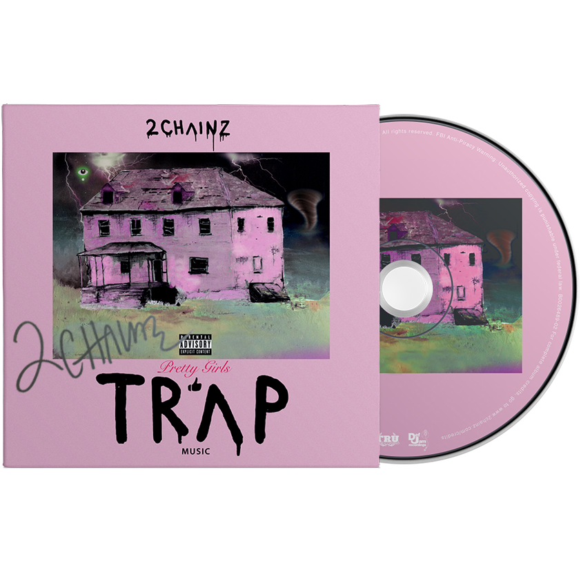 Autographed Pretty Girls Like Trap Music CD + Digital Download