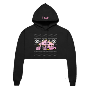 Traphouse Cropped Hoodie