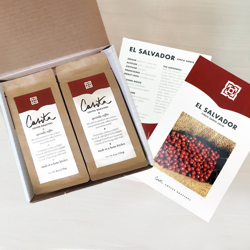 Gift a Subscription:<br>Roaster's Select Monthly