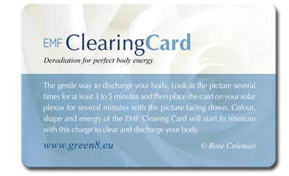 GREEN8 EMF Clearing Card