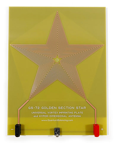 GS-72 Golden Section Star Broadcast and Imprinting Plate for GB-4000 only for purchase at this price if you purchased a GB-4000 Package from EMR Labs, LLC