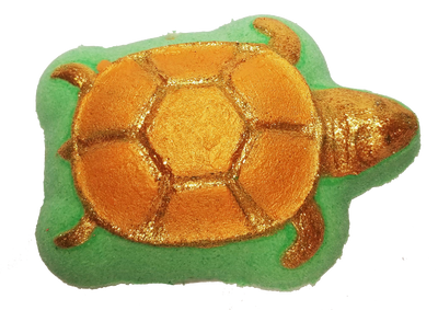 GOLDEN SEA TURTLE Bath Bomb