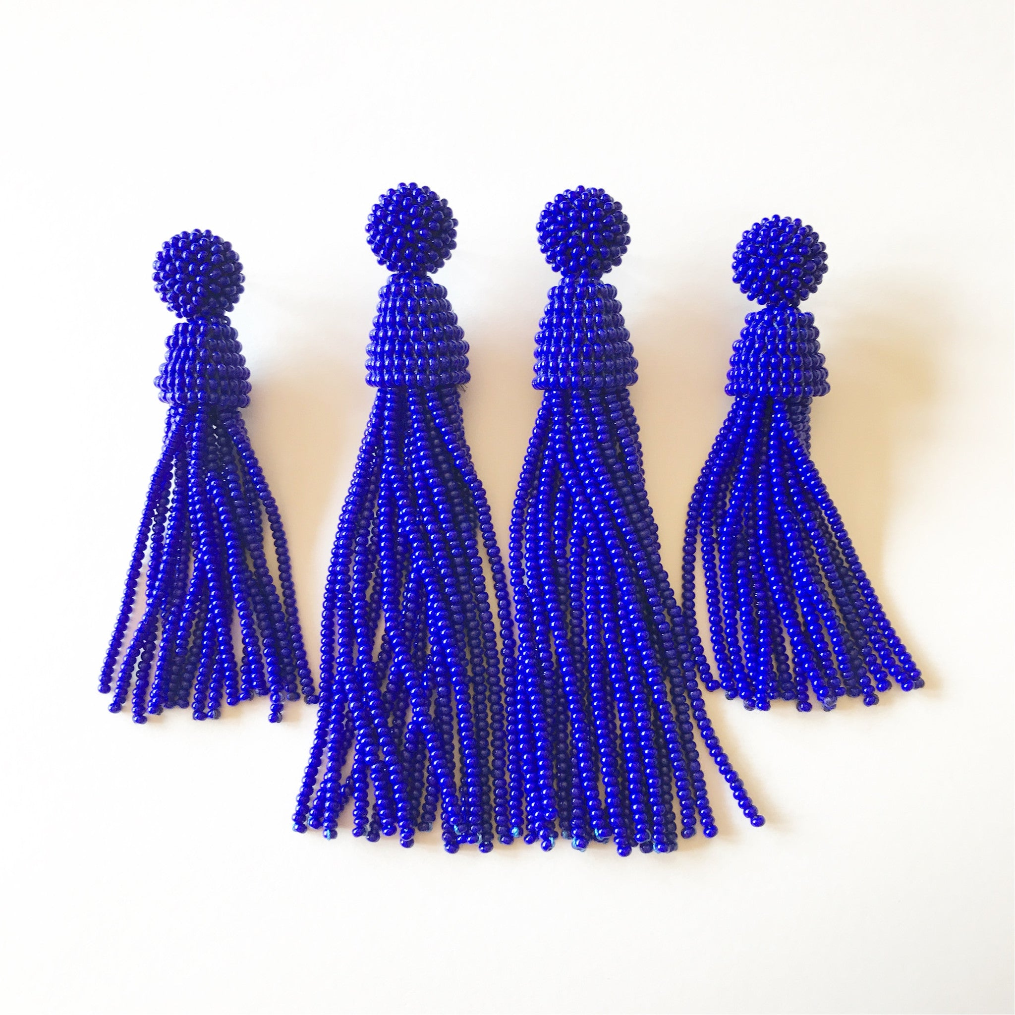 Royal Blue Tassels