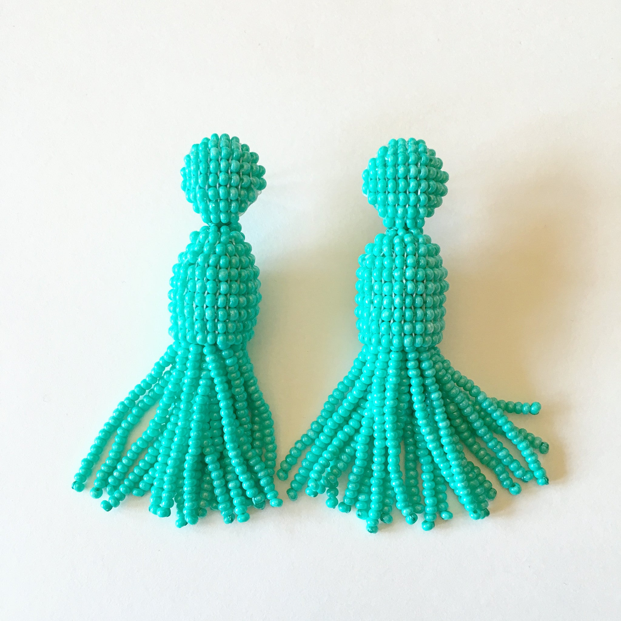 Native Turquoise Tassels