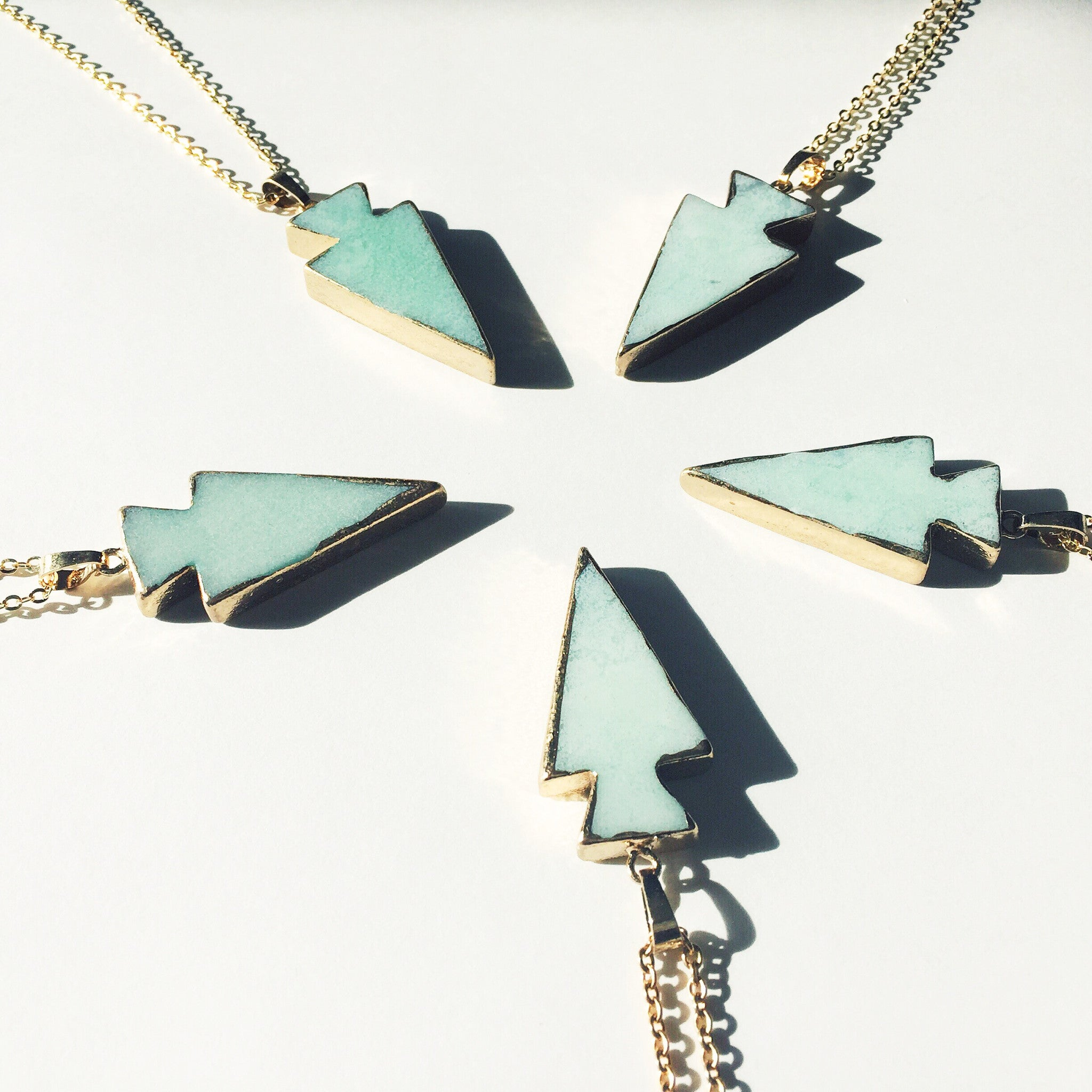 Mint Green Arrowhead