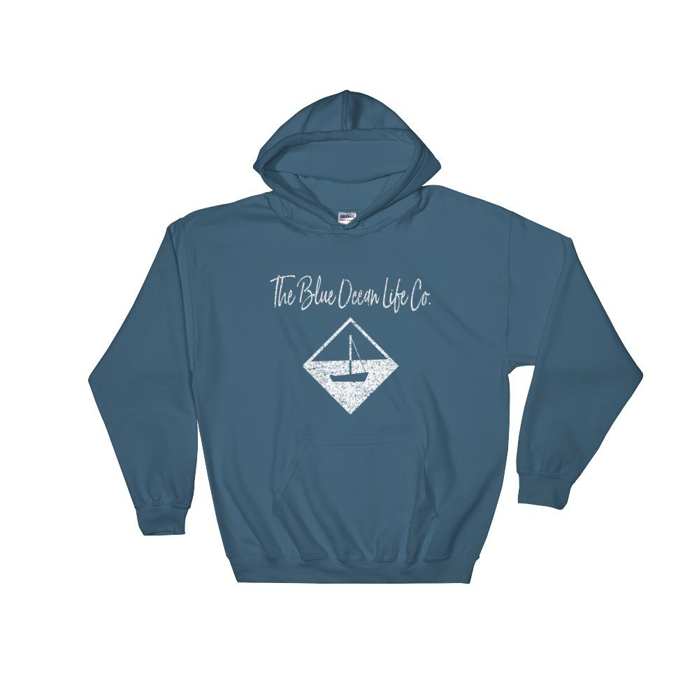 Sailboat Hoodie in blue
