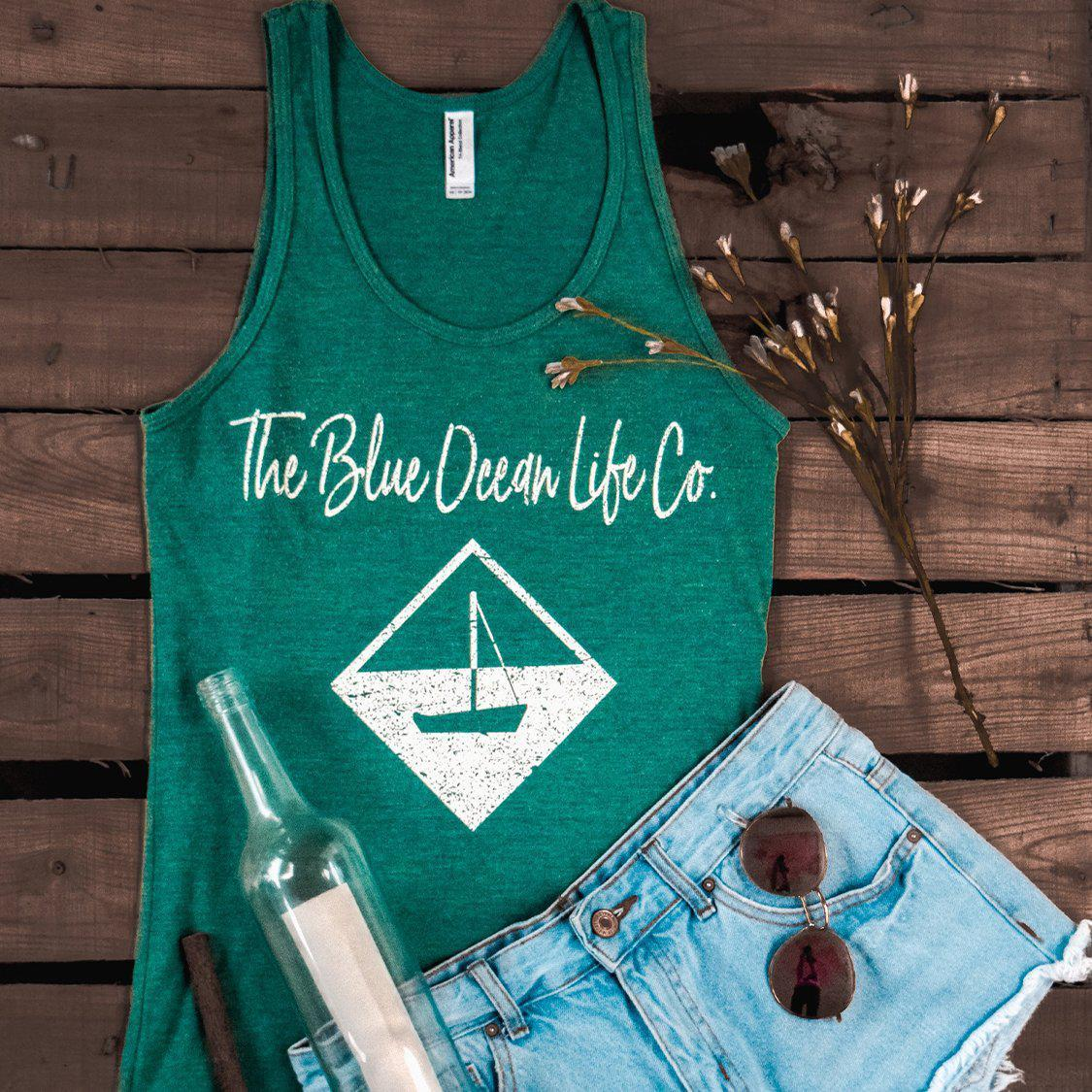 Sailboat Logo & Signature Tank Top