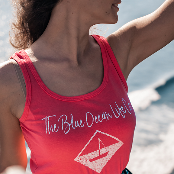 Sailboat Women's Tank Top for women