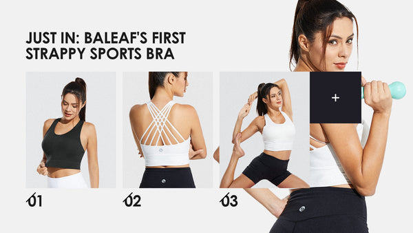JUST IN: Baleaf's First Strappy Sports Bra