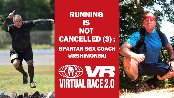 Running Is Not Cancelled (3) : Spartan SGX Coach @rshimonski