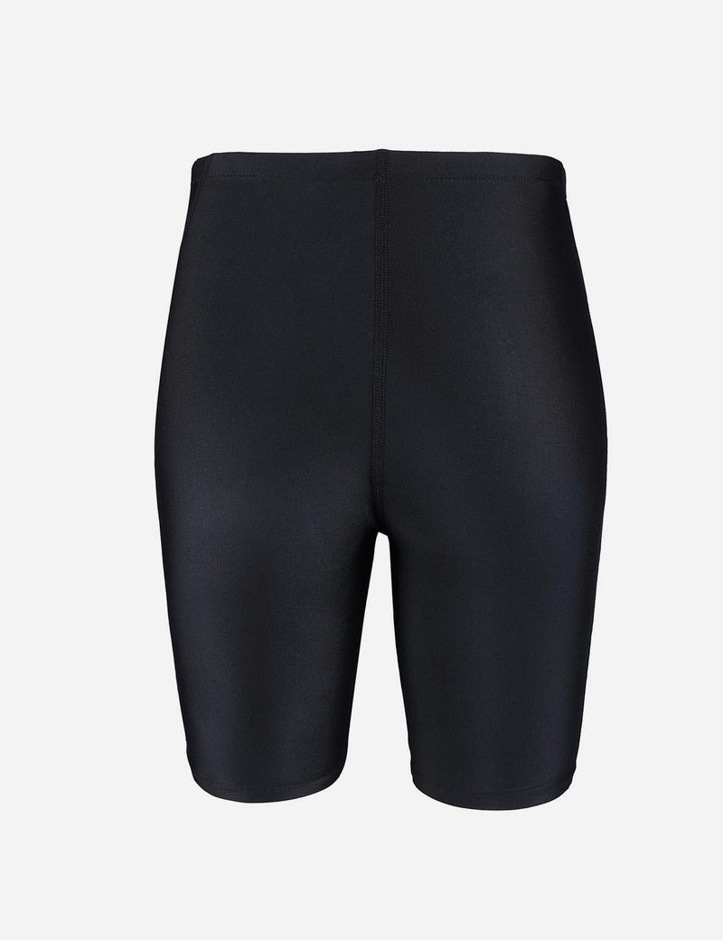 Baleaf Boy's UPF 50+ Sun Protective Quick-Dry Compression Swim Shorts black black back