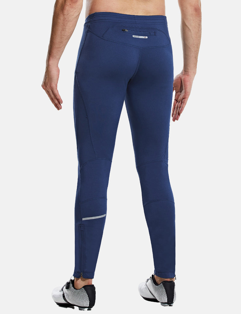 Baleaf Men's Fleece Thermal Ergonomic Lined Outdoor Tights sizing chart